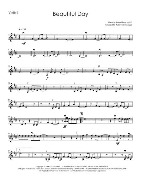 Beautiful Day - String Quartet