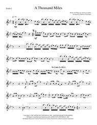 A Thousand Miles - String Quartet