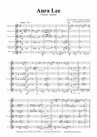 Aura Lee - Love me tender - Elvis - Clarinet Quintet
