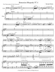 Romanian Rhapsody No. 1 in A major, Op. 11 (Transcribed for Cello and Piano)
