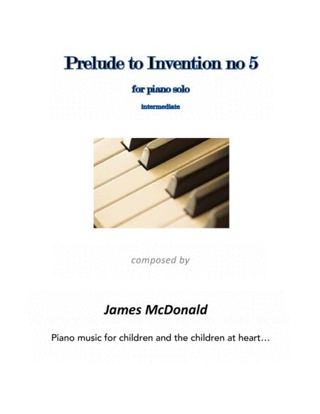 Prelude to Invention no 5