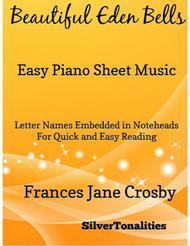 Beautiful Eden Bells Easy Piano Sheet Music