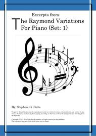 Excerpts from - The Raymond Variations for Piano