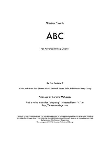 ABC - String Quartet