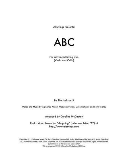ABC - Violin and Cello Duet