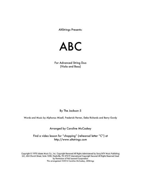 ABC - Viola and Double Bass Duet