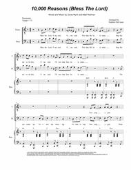 10,000 Reasons (Bless The Lord) (Duet for Tenor and Bass Solo)