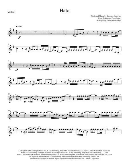 Halo (Beyonce) String Quartet