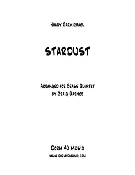 Stardust for Brass Quintet