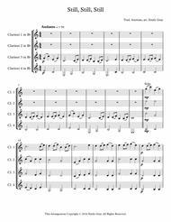 Still, Still, Still (4 Clarinets)