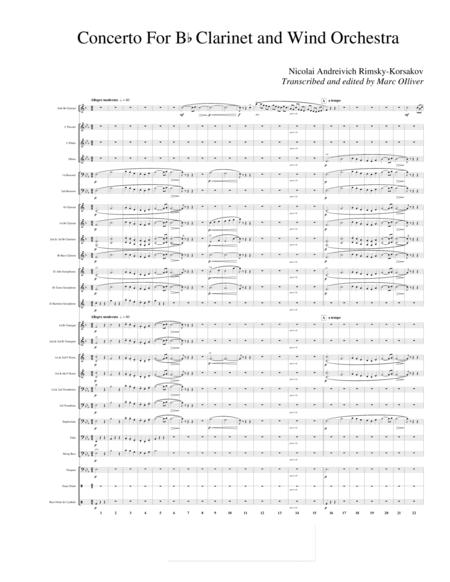 Concerto for Clarinet and Wind Band