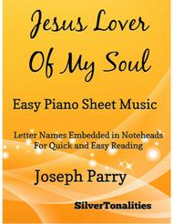 Jesus Lover of My Soul Easy Piano Sheet Music