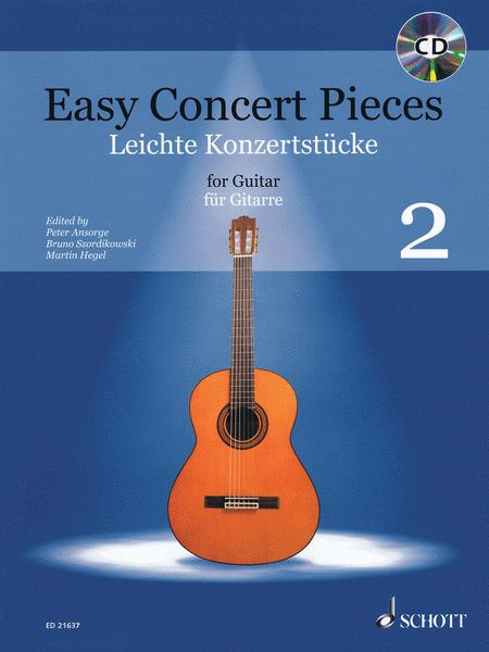 Easy Concert Pieces for Guitar - Volume 2