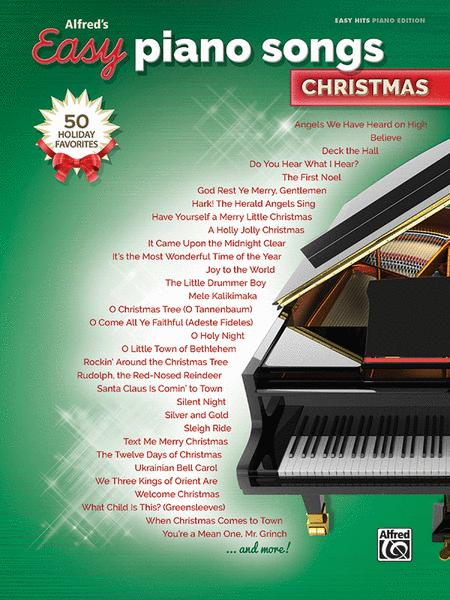 Alfred's Easy Piano Songs -- Christmas