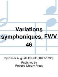 Variations symphoniques, FWV 46