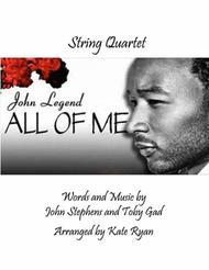 All Of Me (String Quartet)