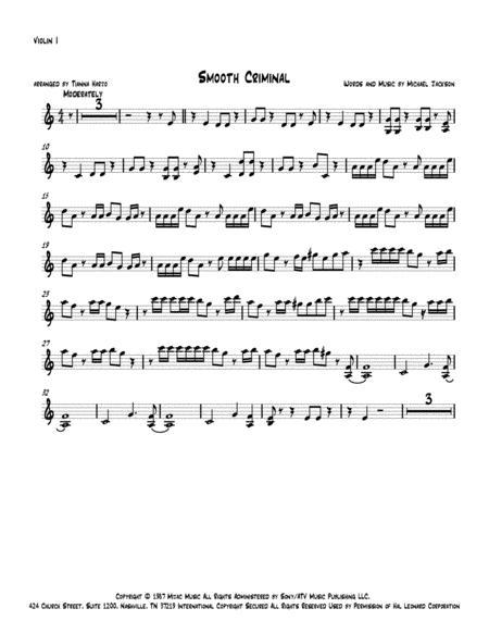 Smooth Criminal - String Quartet
