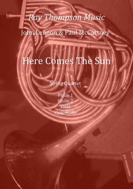The Beatles: Here Comes The Sun - string quartet