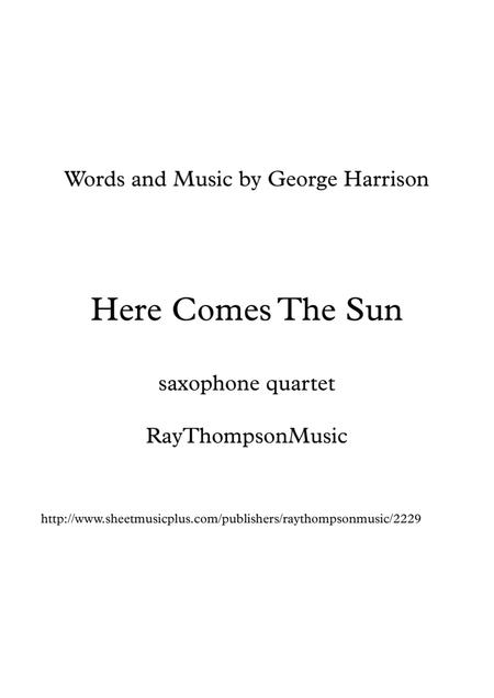 The Beatles: Here Comes The Sun - clarinet quartet