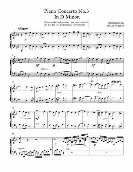 Piano Concerto no.3.