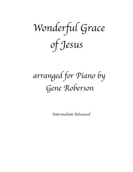 Wonderful Grace of Jesus  Piano Solo