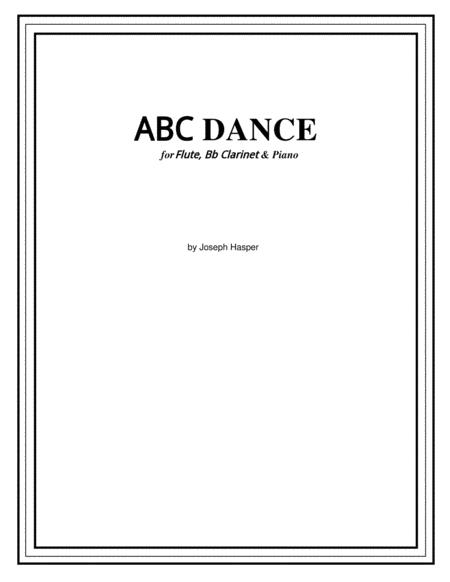 ABC Dance (flute, clarinet and piano)