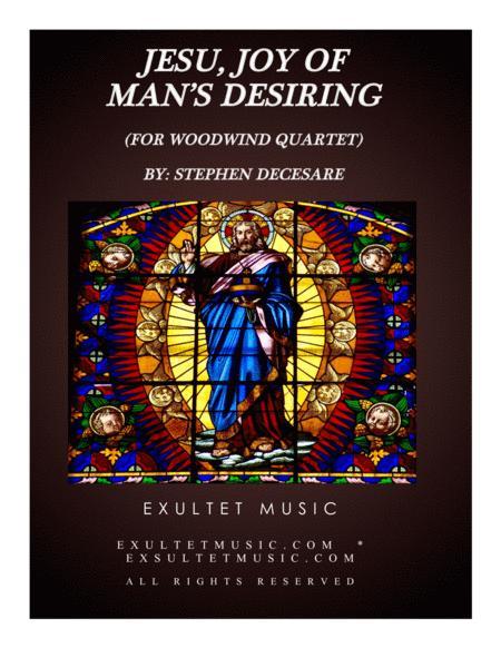 Jesu, Joy Of Man's Desiring (for Woodwind Quartet)