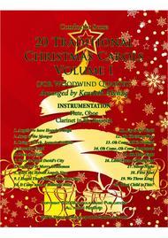 20 Traditional Christmas Carols Volume I (for Woodwind Quartet)