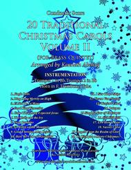 20 Traditional Christmas Carols Volume II (for Brass Quintet)