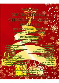 20 Traditional Christmas Carols Volume I (for Woodwind Quintet)