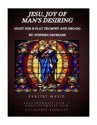 Jesu, Joy Of Man's Desiring (Duet for Bb-Trumpet and Organ)