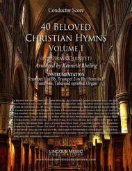 40 Beloved Christian Hymns Volume I (for Brass Quintet and optional Organ)