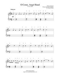 O Come, Angel Band (The Land of Beulah) - for easy piano