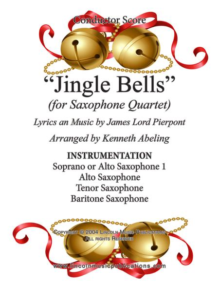 Jingle Bells (for Saxophone Quartet SATB or AATB)