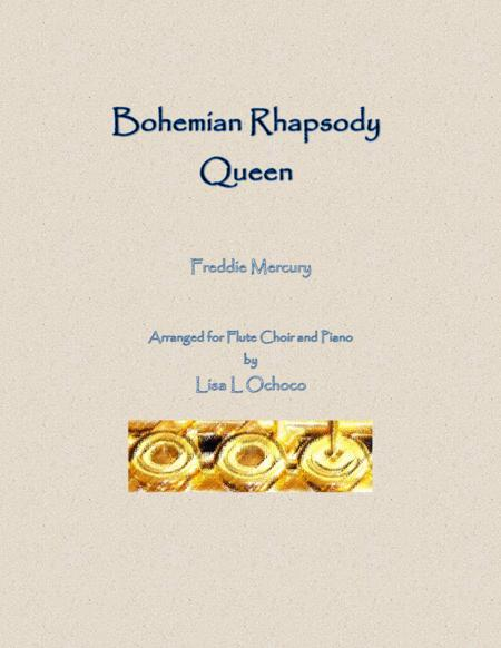 Bohemian Rhapsody for Flute Choir and Piano