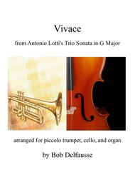 Vivace from Lotti's Trio Sonata in G Major