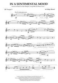 In A Sentimental Mood for Brass Quartet