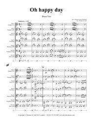 Oh happy day - Christmas Song - Gospel - Brass Trio