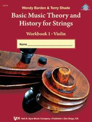 Basic Music Theory And History For Strings Workbook 1 - String Bass