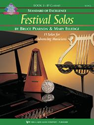 Standard of Excellence: Festival Solos, Book 3 - Bass Clarinet
