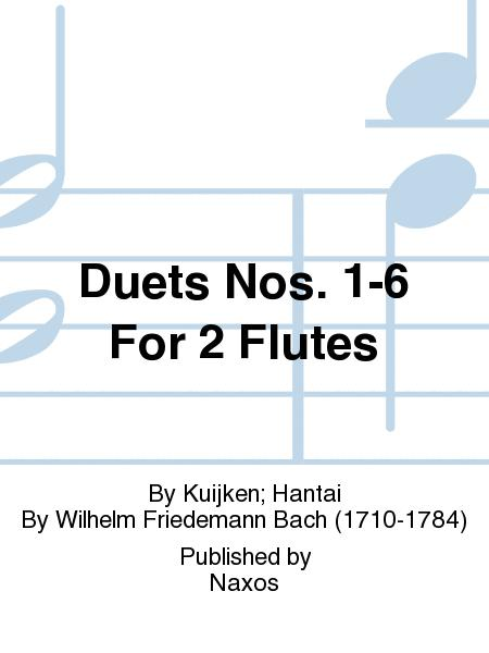 Duets Nos. 1-6 For 2 Flutes