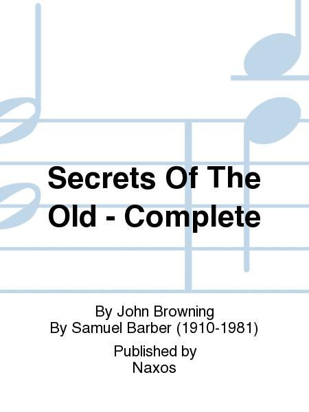 Secrets Of The Old - Complete
