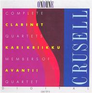 Crusell: Clarinet Quartets; Kr