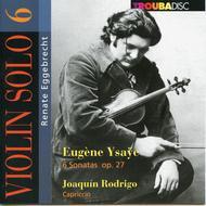 V6: Violin Solo: Six Sonatas;