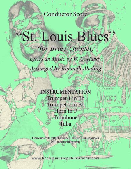 St. Louis Blues (for Brass Quintet)