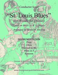 St. Louis Blues (for Woodwind Quintet)