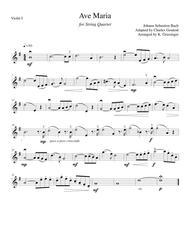 Ave Maria (Bach/Gounod) String Quartet