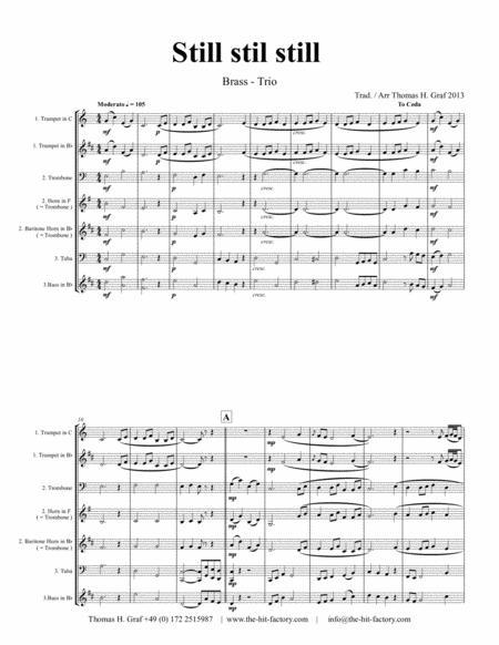 Still Still Still - Christmas song - Brass Trio