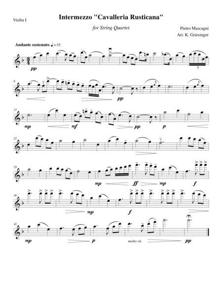 INTERMEZZO BAIXAR RUSTICANA MASCAGNI - CAVALLERIA MUSICA PIETRO DA