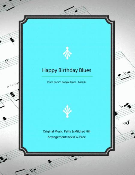 Happy Birthday Blues - piano solo